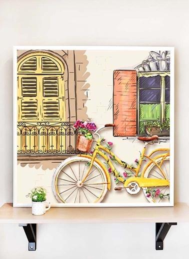 Tablo Bisiklet A - 65*65 Cm -The Mia